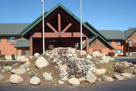 Hayward Wisconsin Commercial Landscaping